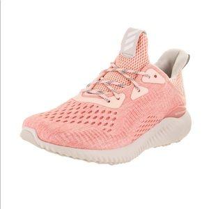 Adidas Women Alphabounce Running Shoes Pink 7.5